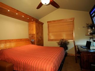 Copper Mountain townhome photo - Guest Bedroom with King Murphy Bed down.
