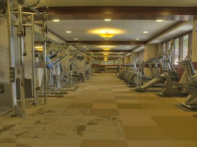 State-of-the-Art Fitness Center at the Beach Villas