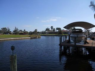 Cape Coral villa photo - looking south from dock area