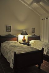 Nisbet Beach villa photo - The second bedroom is airy and comfortable. Ocean views. Twin or King size bed