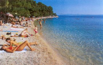 Beach in Podgora