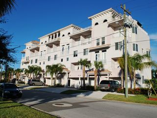 Clearwater Beach townhome photo - Breathtaking view of Gulf of Mexico from the front of the private terrace!