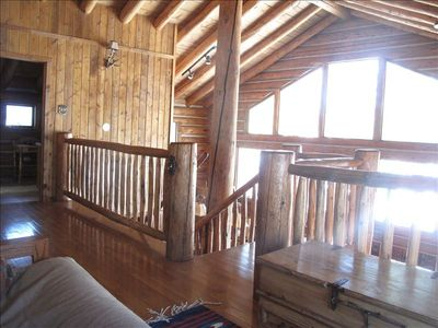 Grand Lake house rental - View from loft library