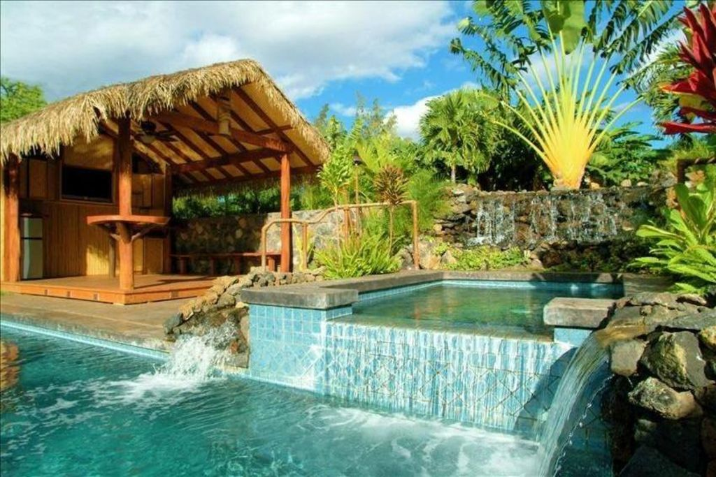 Amazing House With Pool Spa Cabana Homeaway Kihei