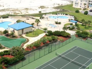 Gulf Shores condo photo - Tennis Courts, Putting Green, Outdoor Pools, Baby Pool, Hot Tub