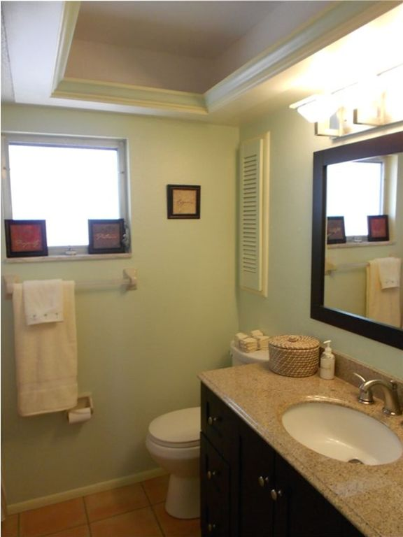 main bath for guests