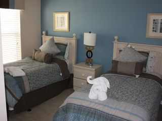 Encantada Resort townhome photo - Third Bedroom - Two Twin Beds