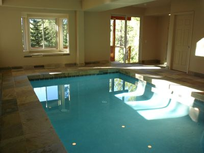 Heated pool room , 4th bath, sauna, steam shower, automatic pool cover