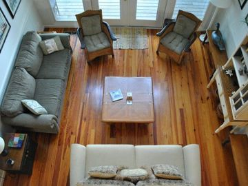 Beaufort cottage rental - Living Room