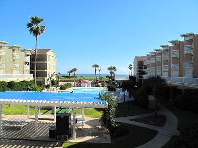 Balcony view of Pool and Gulf of Mexico