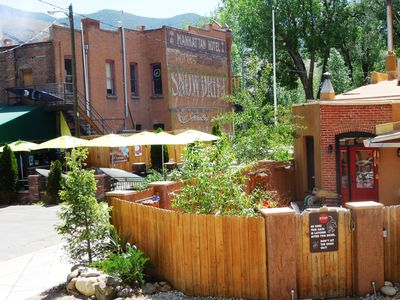 Rocco's By The River in the Heart of Downtown Salida, CO.