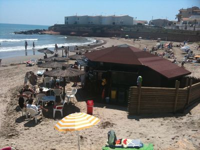 Playa Flamenca villa rental - Beach Bar Flamenca Beach