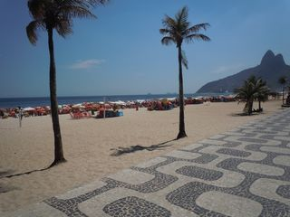 Ipanema apartment photo - Go for a very relaxing walk on Ipanema beach and its famous 'calçadão ' !