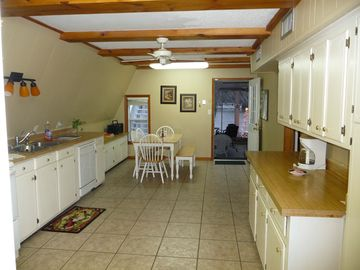 Kitchen leading to Covered Patio