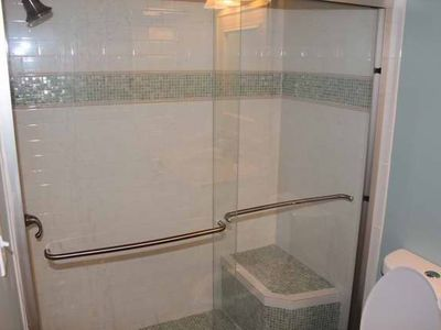 CUSTOM MASTER BATH WALK IN SHOWER