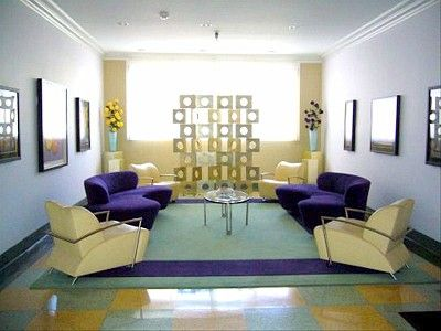 Miami Beach condo rental - The lobby