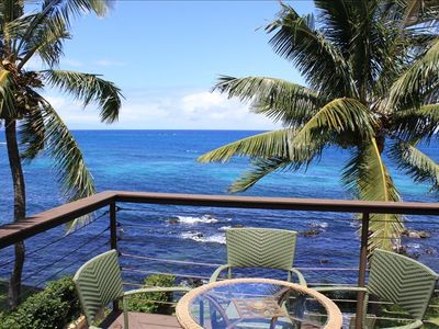Best ocean view in Maui-right from your private balcony!