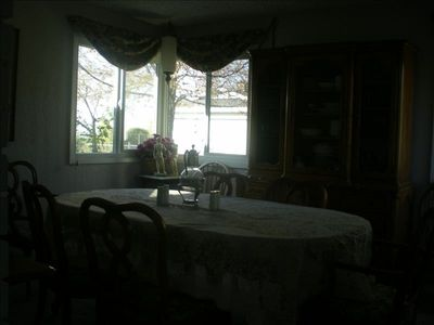 Formal Dining Room with Mt. View