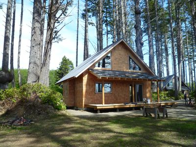 Cabin B in the spring of 2012. It's now finished! Inquire #42437