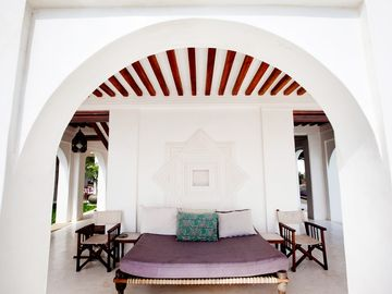 Casa Forodhani, in stile swahili, costa del Kenya