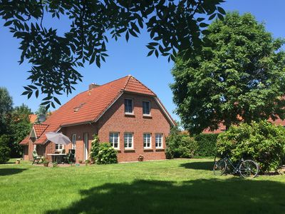 Moin in the lovingly furnished house with a large garden at 'Endje van de Welt'