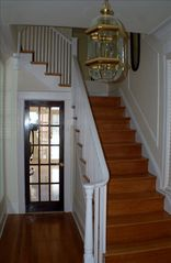 Downtown - Washington DC house photo - Entrance into the home. Beautiful french doors into kitchen