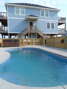 Sea Glass Cottage with pool, installed 2013