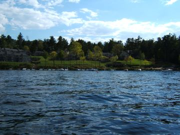 Shores of Samoset from Lake Winnipesaukee