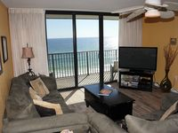 The comfort of home in this Gulf-front condo