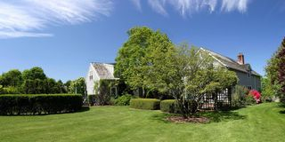 Bridgehampton house photo - Backyard in high summer