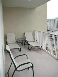 Sun chairs on Balcony!