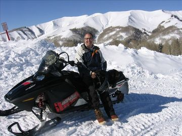 The snowmobiling is great here. Be sure to take a day and give it a try.
