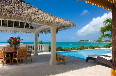 Providenciales - Provo villa rental - Where you need to be! In or out of the sun - there is a place for you.