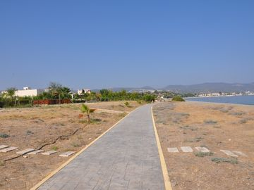 Beachfront Walkway to Marina
