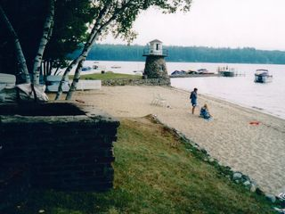 Newfound Lake condo photo - Beautiful Sandy Beach at Your Doorstep