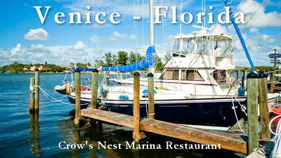 Enjoy delicious food and great views at Crow's Nest Marina Restaurant