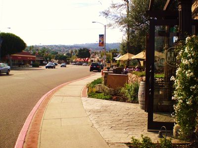 Walk to the great shops and cafes at Riviera Village