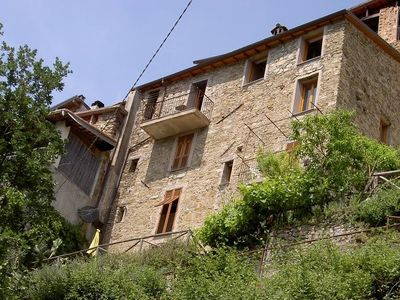 Apartment in one of the prettiest mountain villages in Italy, 15 km from the sea
