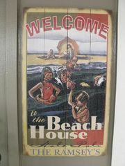 Milolii house photo - Welcome Sign