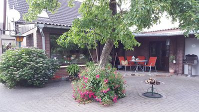 2 Fewo (6 + 5P) with plenty of space for families, groups od peace seekers in the Lewitz