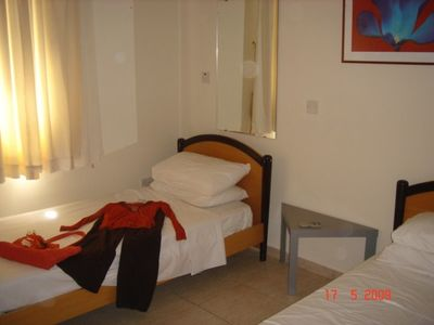 Pegia (Peyia) villa rental - Bedroom 3 with Twin Beds and Built-in Wardobes