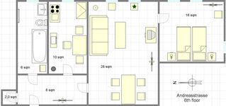 Berlin-Mitte apartment photo - Ground plan