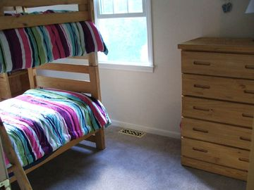 Bedroom with twin bunk