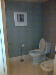 South Beach condo photo - seperate water closet with toilet and bidet
