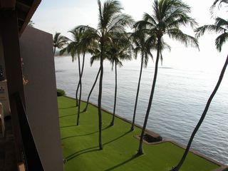 Maalaea condo photo - Another great view from the lanai.