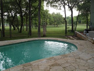 Austin house photo - Pool and green belt