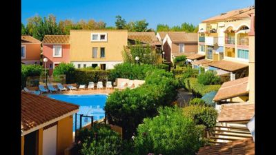 LUXURY VILLA AIR CONDITIONED IN THE BEST RESIDENCE OF MARSEILLAN-PLAGE