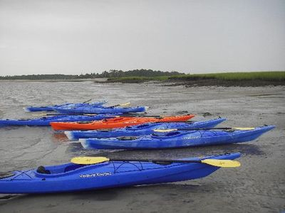 Tybee Island kayaking