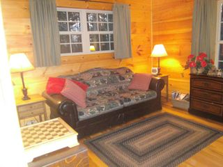 Murphy cabin photo - Versatile guestroom with queen size hide-a-bed