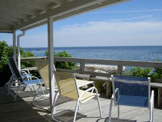 Hampton cottage photo - Deck with a Million Dollar View
